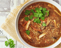Hot Sour Soup (Vegan & Gluten Free)