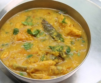 Chicken Dal Recipe - Chicken Dal Curry Recipe