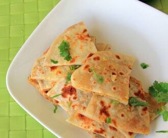 Keema Naan Recipe - Stuffed naan recipe - vegetarrian keema Naan recipe - Kids friendly recipe - Indian Bread reacipe