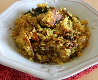 Muri Ghonto: Fish head Cooked with Rice