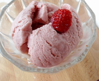 Eggless Strawberry Ice cream | No Churn Method |  Ice Cream Recipe