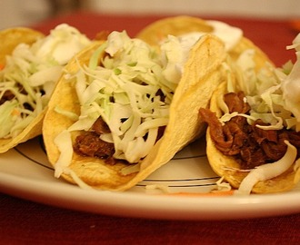 Asian Style Beef Tacos