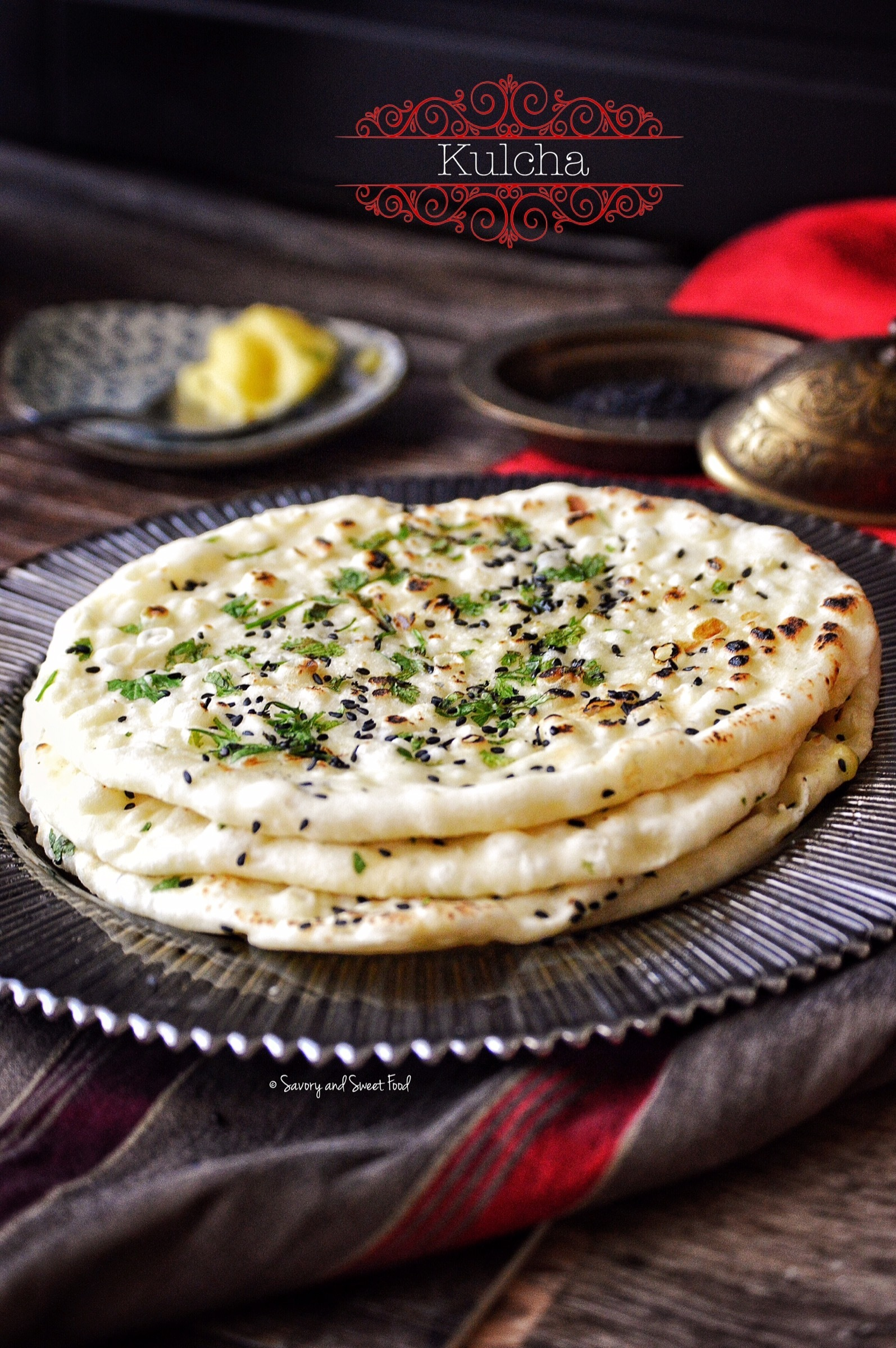 Kulcha/ Indian Flat Bread
