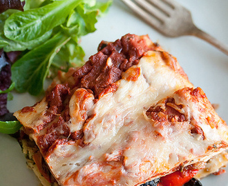 Feeding the Masses: Roasted Vegetable Lasagna