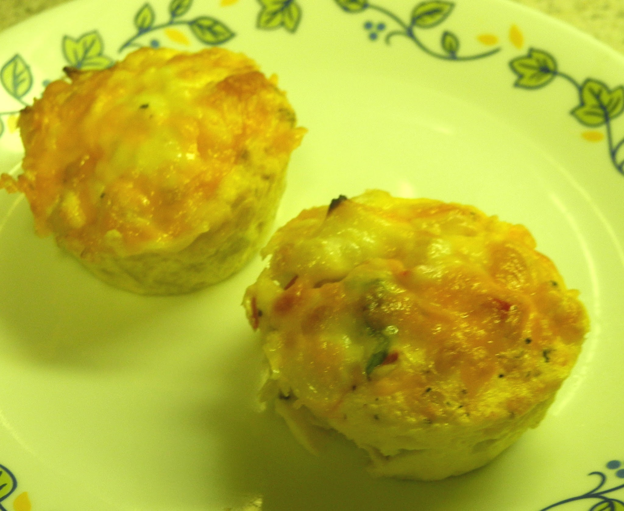 My Meatless Mondays - Cheesy Hash Brown Cups
