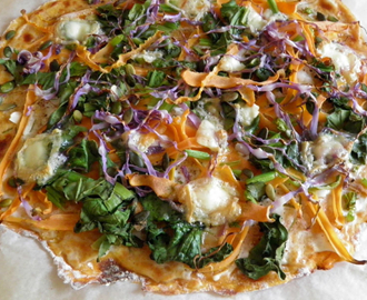 SWEET POTATO PIZZA !