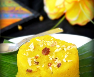 PINEAPPLE KESARI RECIPE / PINEAPPLE KESARI BATH / PINEAPPLE SOOJI HALWA