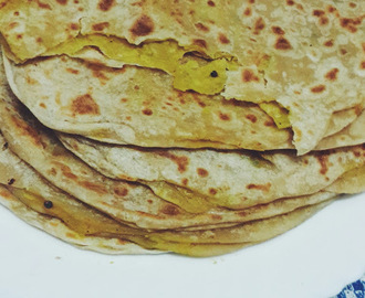 Aloo Paratha / Potato flatbread Recipe