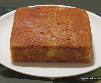 Whole Wheat Flour Pineapple cake