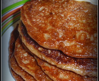 Oats Banana Pancake :Vegan