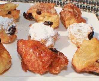 Crispelle Fritta for Carnevale, Doughnuts and St. Joseph's Day