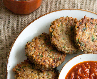 Spice, Spice Baby: Red Lentil Patties with Spicy Tomato Jam