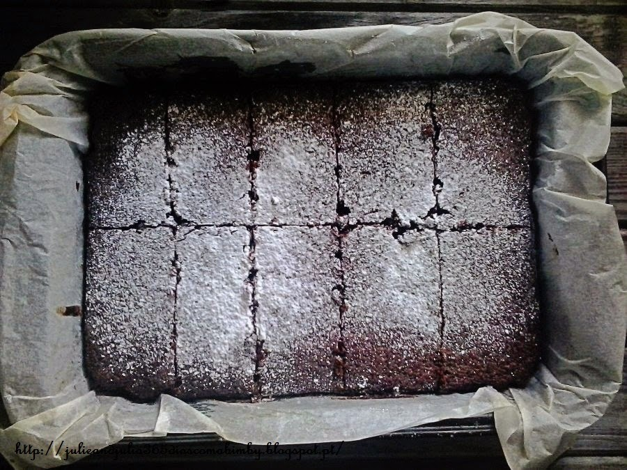 BROWNIE DE BETERRABA E CHOCOLATE, Bimby