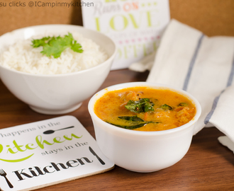 Thakkali curry/Nadan Thakkali Curry/Tomato curry with coconut