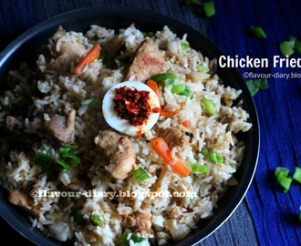 Chicken Fried Rice Recipe | IndoChinese Recipe | Flavour Diary