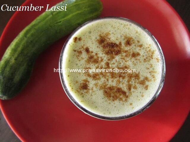 Cucumber Lassi/Salted Cucumber Lassi/Namkeen Kheera Lassi Recipe/Easy Indian Lassi Recipes/How to Make Salted Cucumber Lassi/Summer Special Recipes