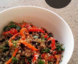Quinoa Bean Salad – Diabetes friendly thursdays