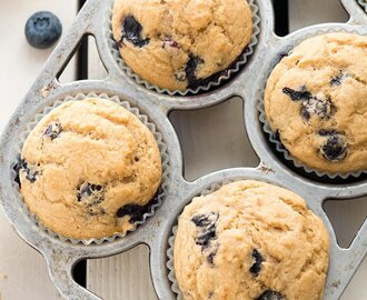 Whole-Wheat Berry Muffins