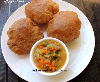 Finger Millet / Ragi Poori | Millet Recipes