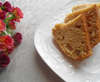 Spiced Walnut Tea Cake  |  Eggless Baking