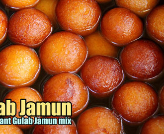Gulab Jamun Recipe with Mix / Instant Gulab Jamun Recipe from Mix (Gits)