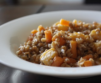 Farro Salad with Roasted Rutabaga and Carrot