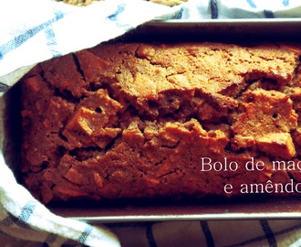 Bolo de maçã e amêndoa/ Apple and almond cake {healthy version}