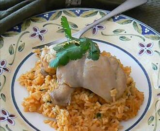 Puertorican Arroz Con Pollo (Rice With Chicken)