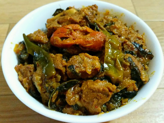 Gongura Mutton (Lamb curry with Sorrel Leaves)