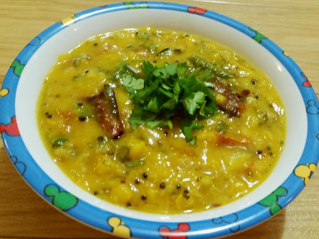 Dal Fry (Restaurant Style)
