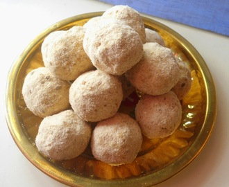 Rice Flour Sweet Balls | Ottu Maavoo Urundai | Our native recipes