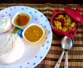 Mullangi Paruppu Kootu | Lentil Radish Dry Side Dish for Rice