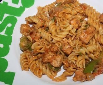 Cajun Chicken Pasta - Kids Lunch Box Ideas 3