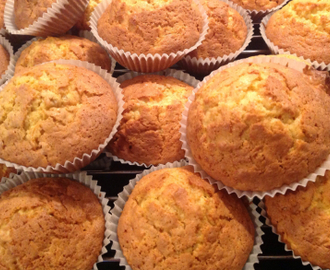 Muffins med havregryn og gulrot oppskrifter - myTaste
