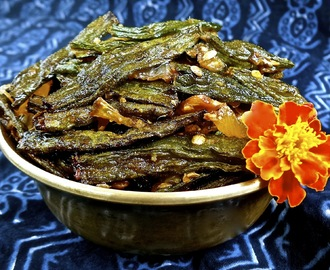Bhindi Fry (Spicy Fried Okra)