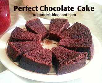 PERFECT CHOCOLATE CAKE RECIPE