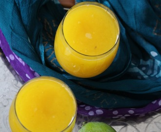 Raw green mango juice / Aam ka Panna
