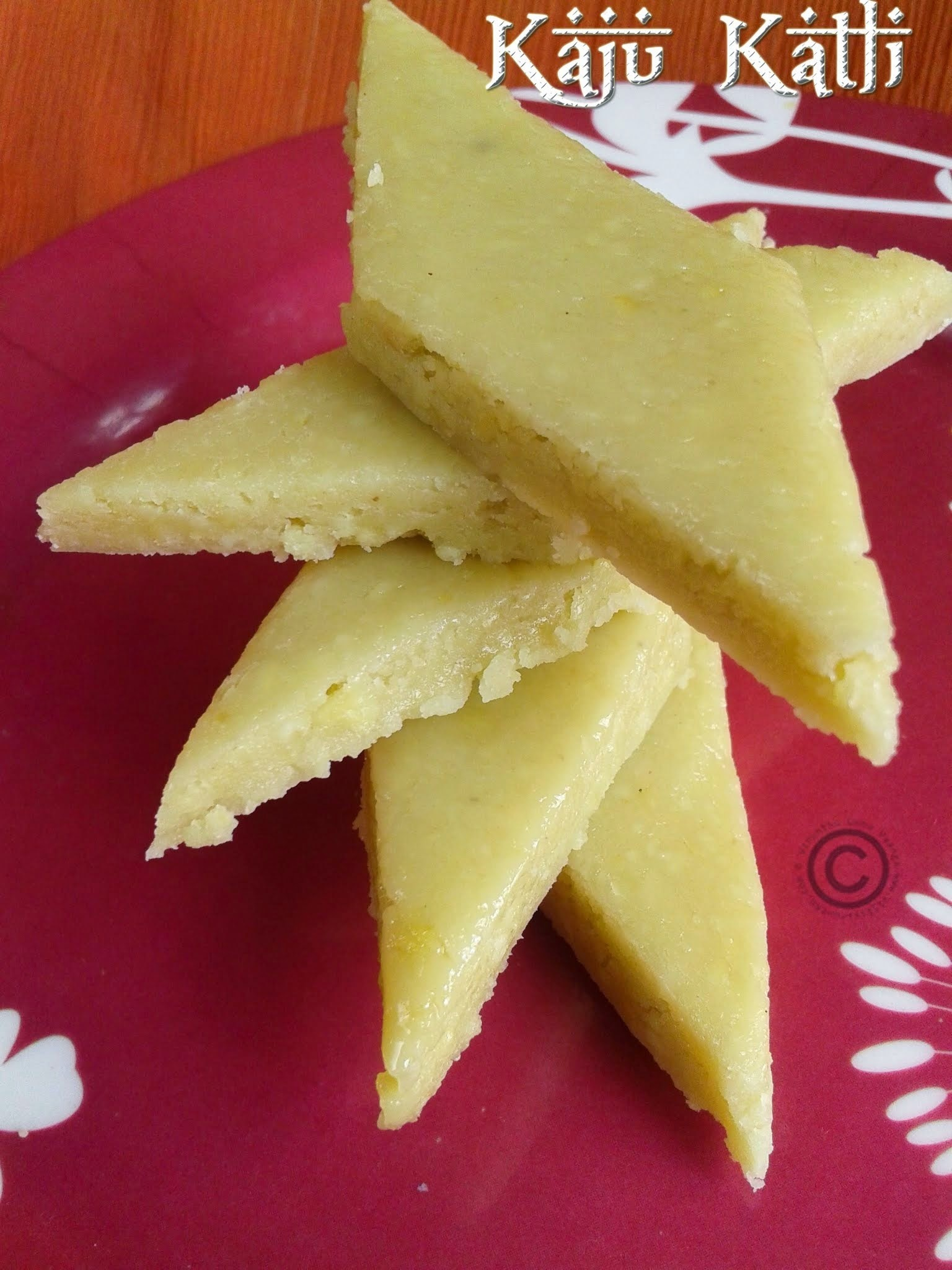 KAJU KATLI WITH #MY ASUS ZENFONE 5