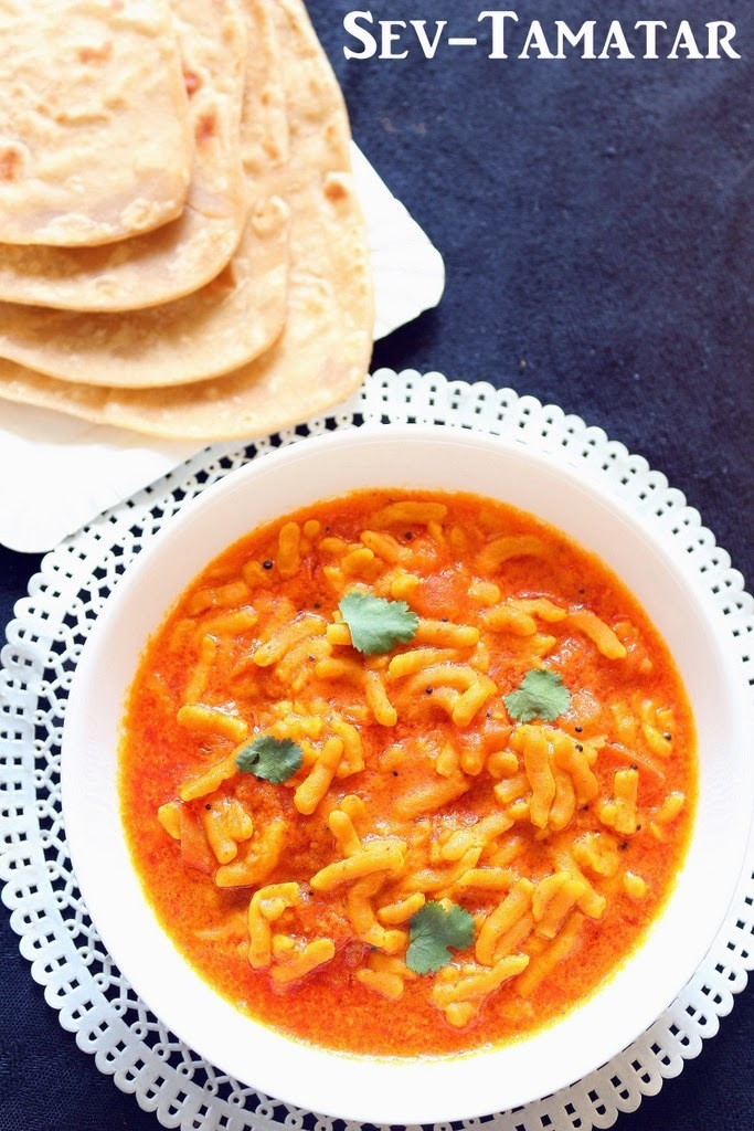 Recipe of Sev Tamatar dhaba style | How to Make Sev Tameta nu Shaak