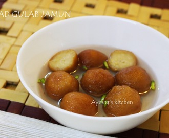 PERFECT BREAD GULAB JAMUN RECIPE - INSTANT BREAD GULAB JAMUN RECIPE