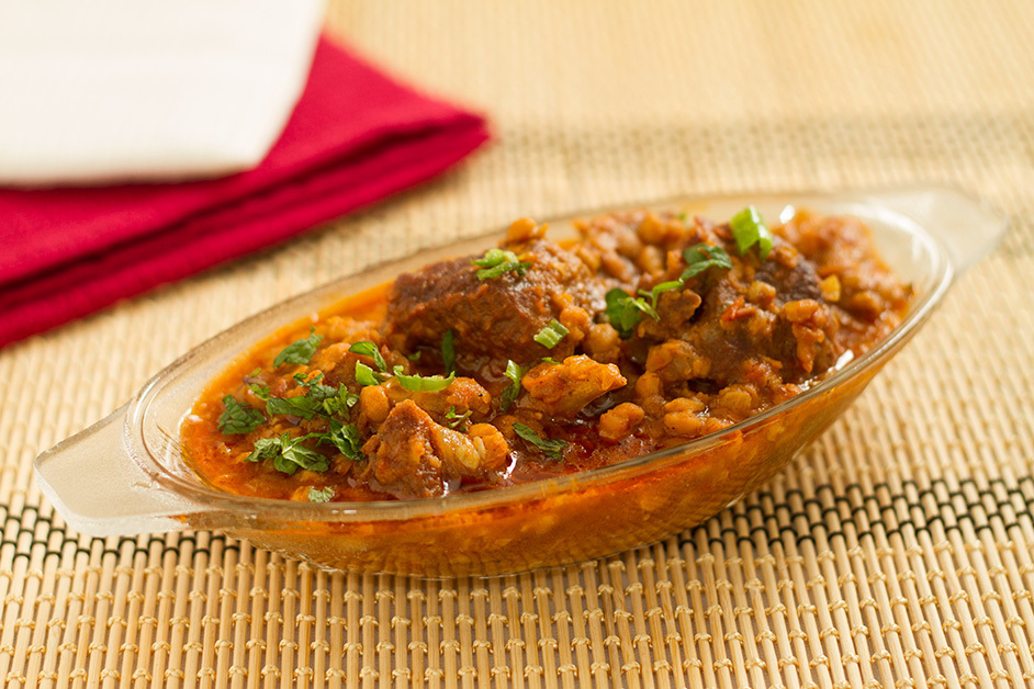 Dal Gosht -Mutton in lentil curry