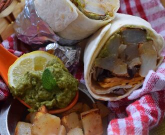 Meatless Monday – Potato Breakfast Burrito