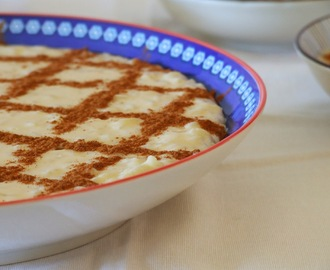 Arroz doce cremoso / Portuguese sweet rice pudding