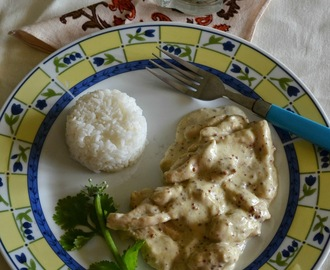 Chicken in Creamy Mustard Sauce