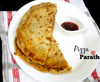 Pizza Paratha | How to make Stuffed Pizza Paratha
