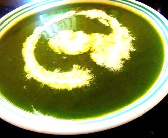Popeye Soup !!! ( cream of spinach soup)