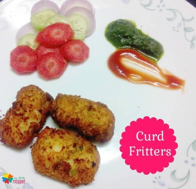Curd Fritters Recipe for Kids –  Easy Snacks