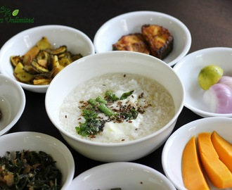 Water Rice or Dahi Pakhala Bhata  ( Summer Feast To Beat The Heat )