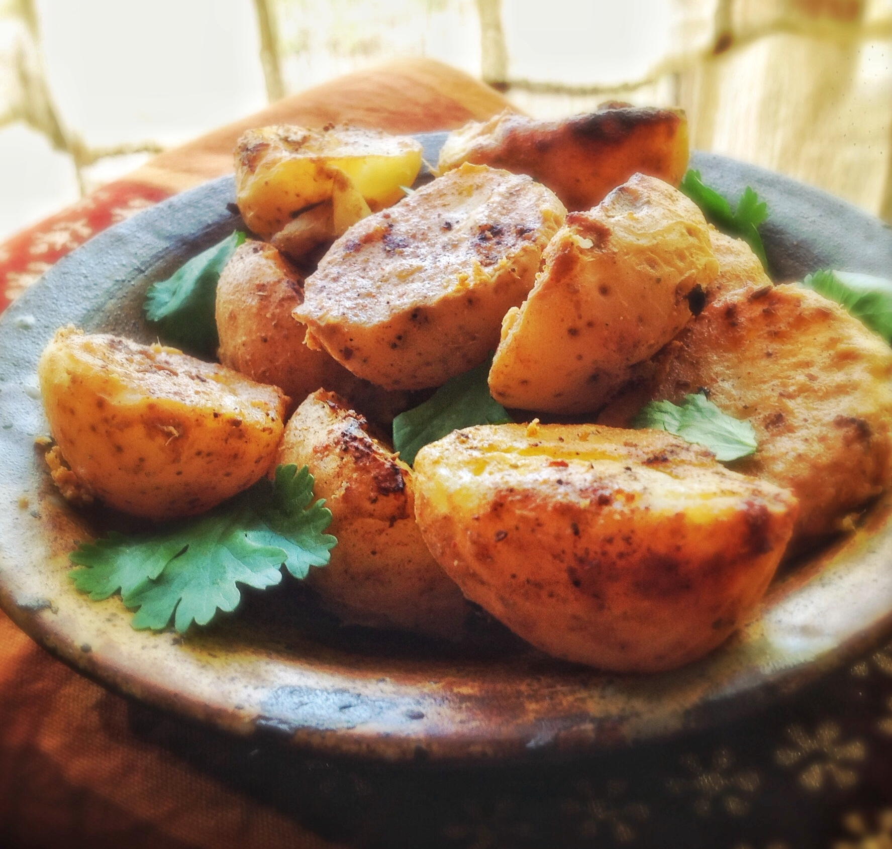 Tandoori Aloo | Spicy Marinated Potatoes Roasted, Fried or BBQ'd