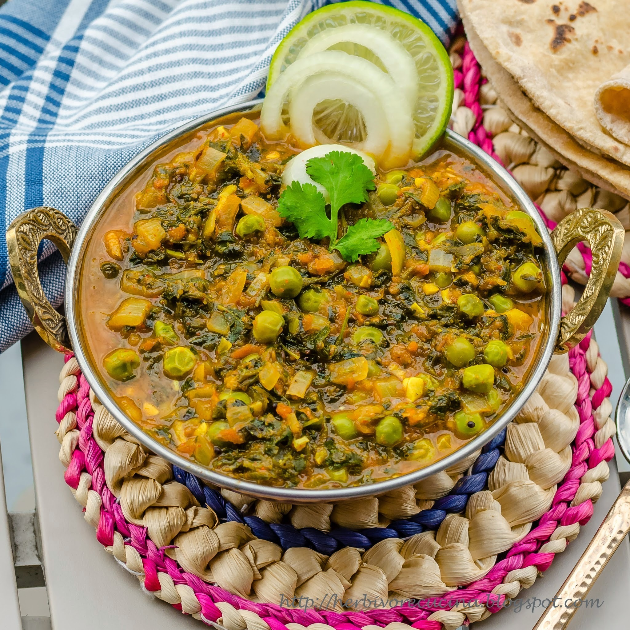 Methi Mutter Masala Curry
